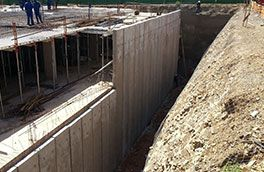 Prestressed-Hollow-core-retaining-walls